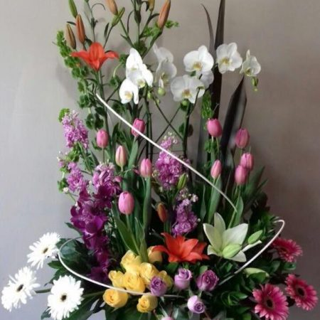 Arreglos Florales Con Orquídeas