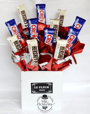 Caja con chocolates mixtos