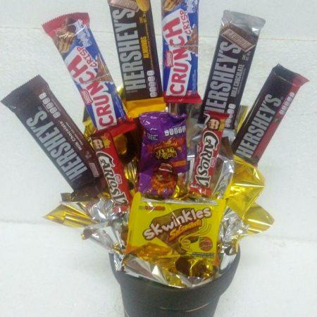 Regalo para Hombre con Chocolates